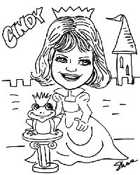 Black & White Caricatures